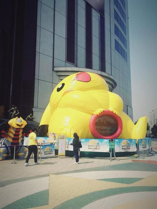 pikachu inflable