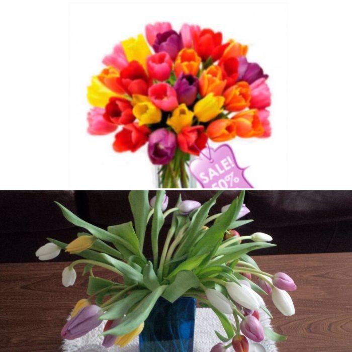 comparacion de florero