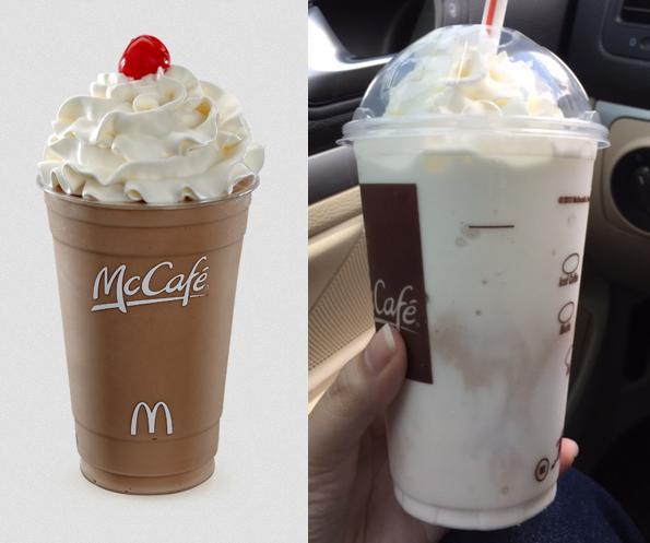 cafe de mcdonalds expectativa vs realidad