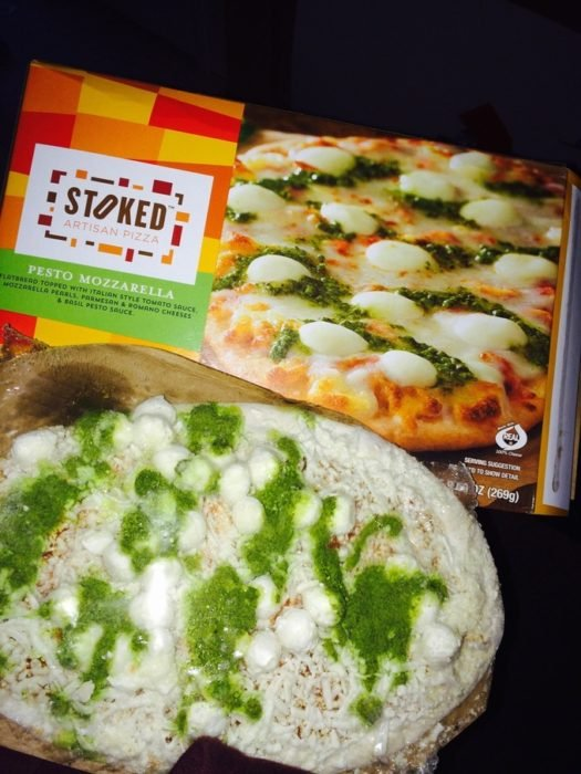pizza de pesto expectativa y realidad