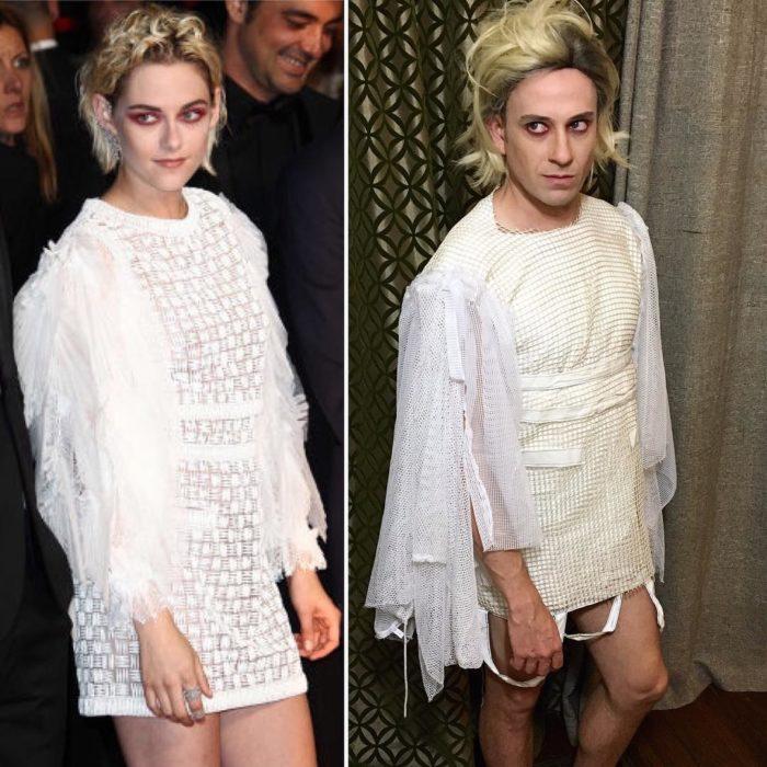 comparación Kristen Stewart y Tom Lenk