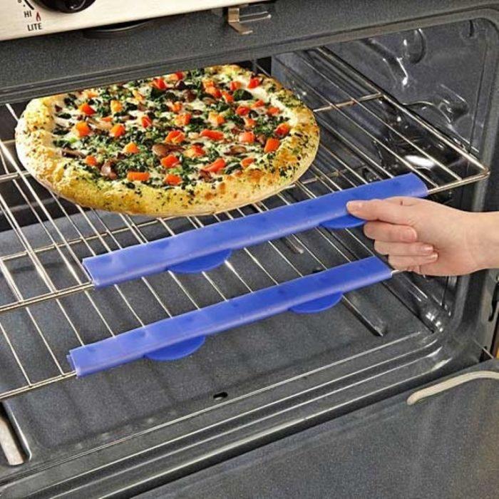 Gomas de silicón para poder sacar las cosas calientes del horno