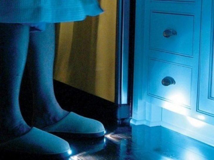 Pantuflas con luz integrada