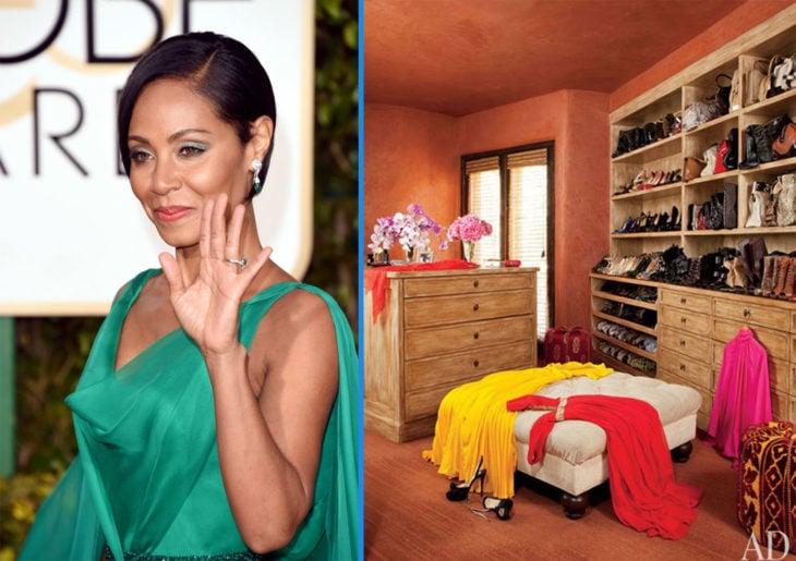Colorido armario de Jada Pinkett