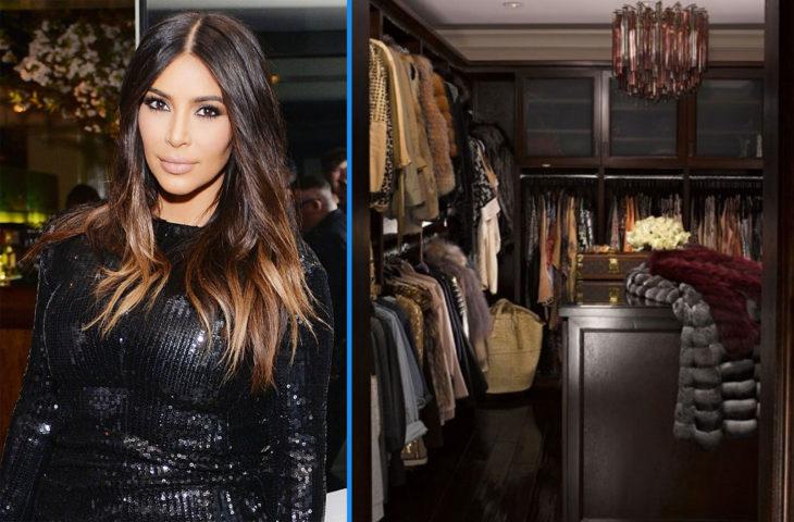 Closet de Kim Kardashian