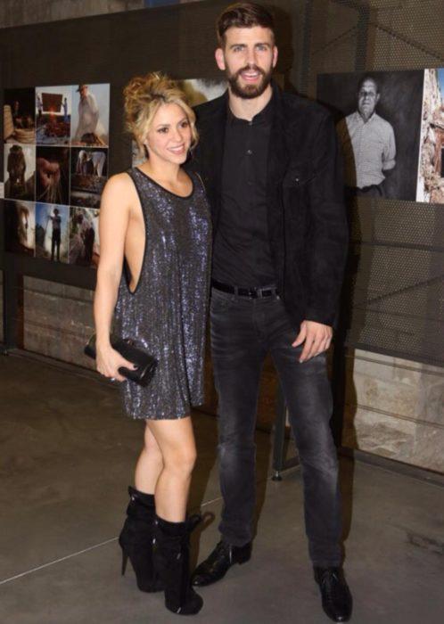 Shakira y Piqué en una premiación en 2016