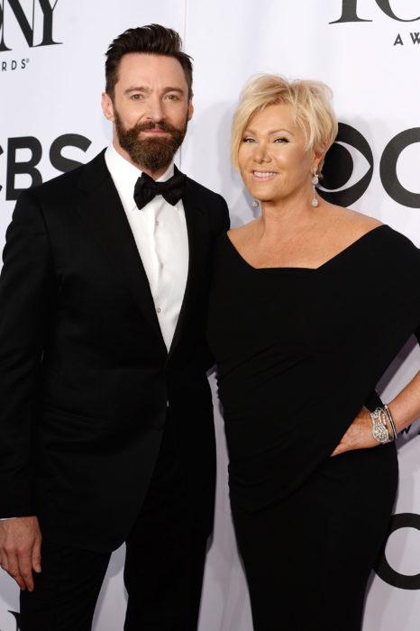 La esposa de Hugh Jackman le lleva 13 años de diferencia