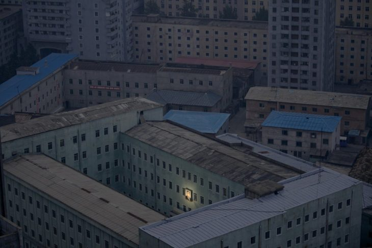 Kim jong en edificio