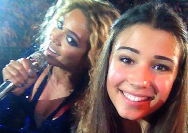 Fan se toma una selfie con Beyonce y la que resalta más por su belleza es la fan
