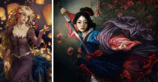 Heather Theurer recrea personajes de Disney