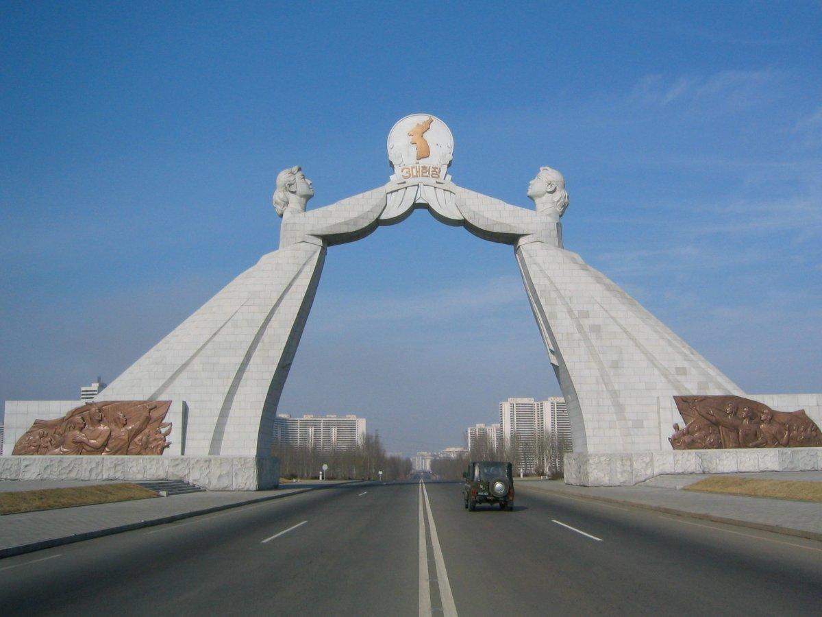 Conoce los edificios gigantescos y raros de Corea del Norte