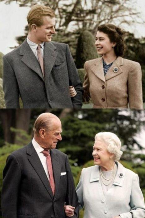 reina elizabeth y el principe felipe