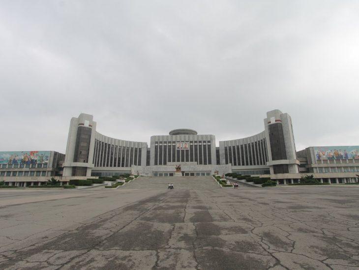 edificio en Norcorea