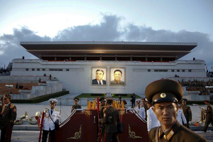 edificio de Norcorea