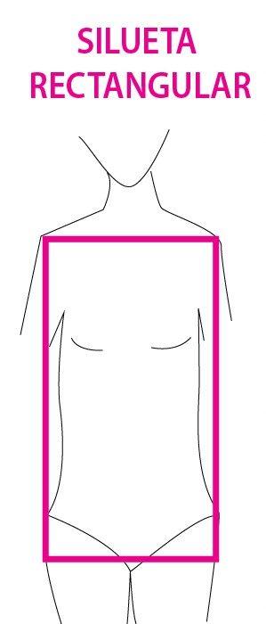 Imagen que muestra el tipo de cuerpo rectangular