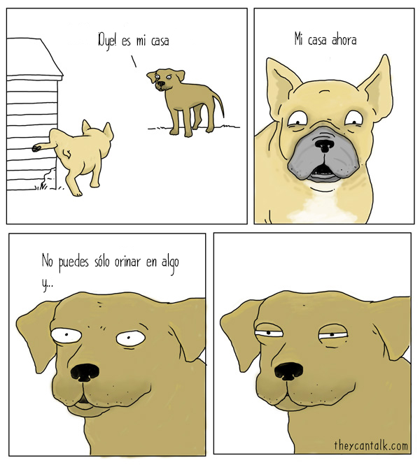 perros hablando