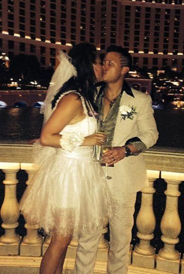 Vestido de novia para boda en Las Vegas