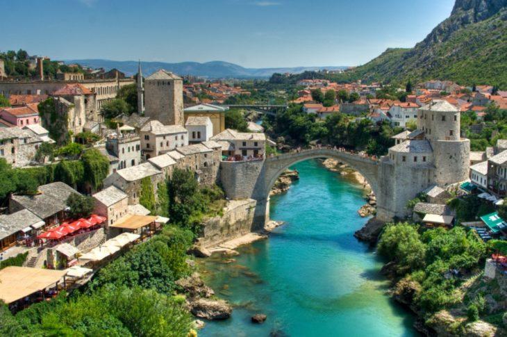 Puente viejo, Bosnia