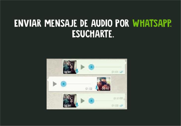 Enviar mensaje de audio