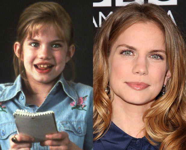 la niña de mi primer beso antes y ahora