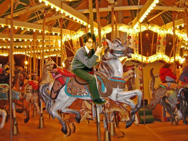 HARRY EN SU PONY