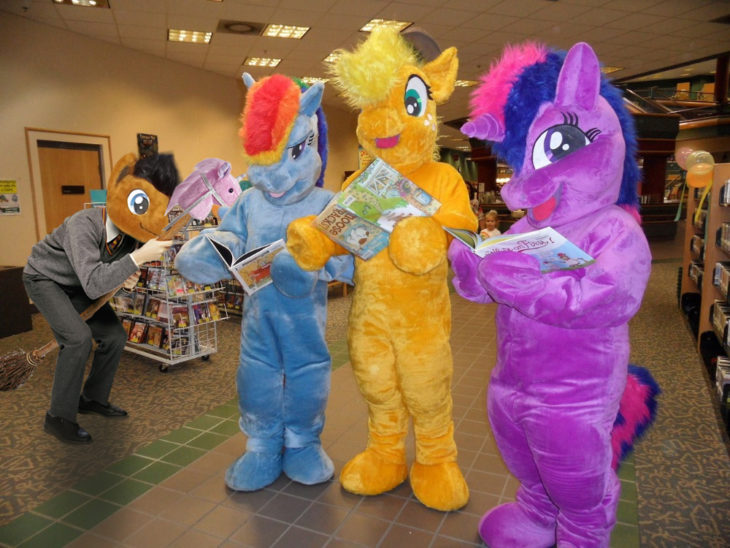 HRRY CON LOS MY LITTLE PONY