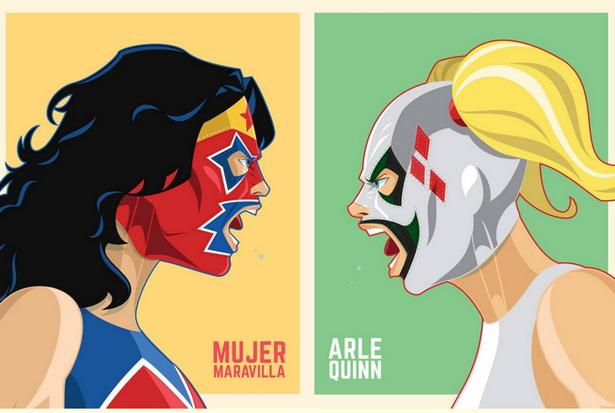 mujer maravilla vs. harley quinn