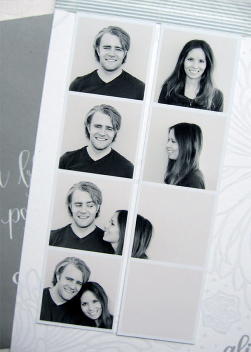 personas que se tomaron fotos de una dorma diferente para anunciar su matrimonio