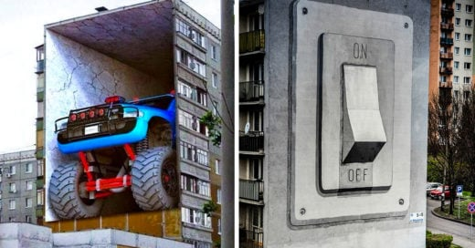 graffittis con efecto visual