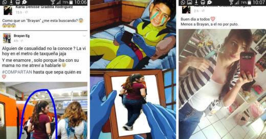 """""""El Brayan"""" busca una chica del metro... Internet la encuentra y él la friendzonea"""