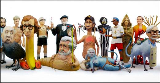 Esculturas hechas de los mejores directores