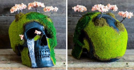Arte en cráneos