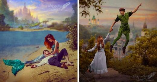 Fotógrafo recrea imágenes de los cuentos infantiles
