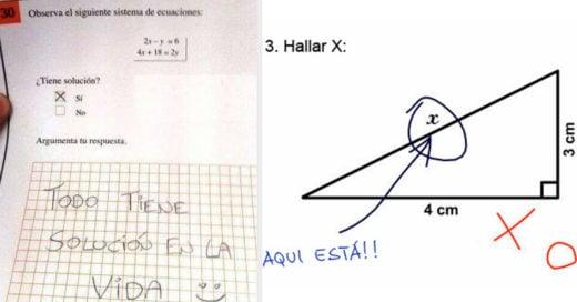 Las mejores y mas divertidas respuestas que los niños pusieron en sus exámenes