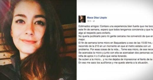 Salvó a una niña de ser secuestrada y nos cuenta su historia #LadyMicro