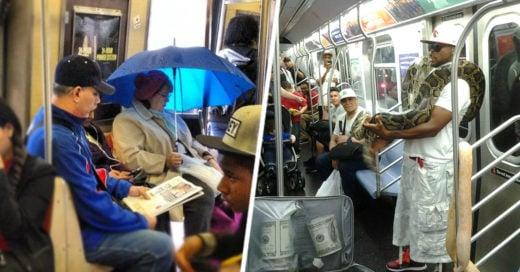 Personas que no desearías encontrar en el metro