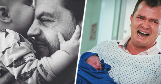 Fotos conmovedoras de padres e hijos