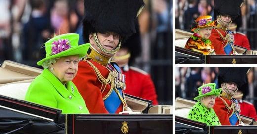 Trollean a la reina de Isabel II de Inglaterra