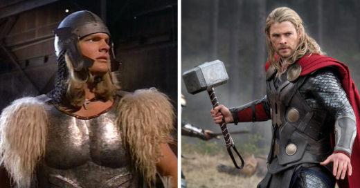 Superhéroes ANTES y AHORA tras su evolución por el mundo del cine