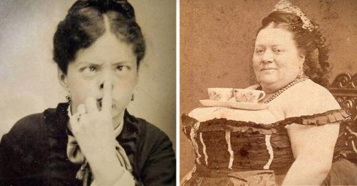 Fotos que muestran el humor de las personas en la época Victoriana