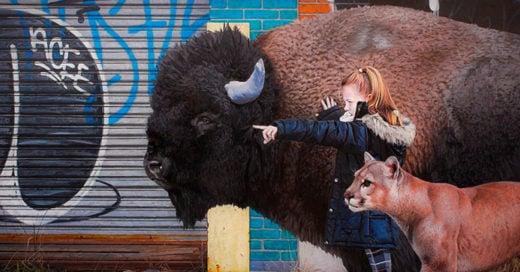 Cover-Artista-crea-increibles-pinturas-de-ninos-y-animales