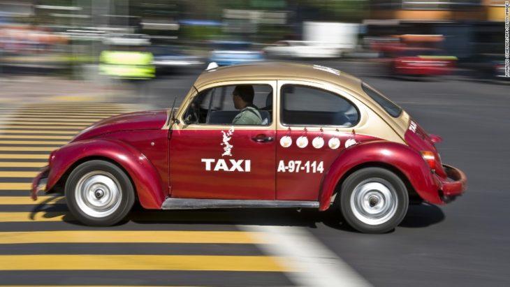 Taxi en marcha