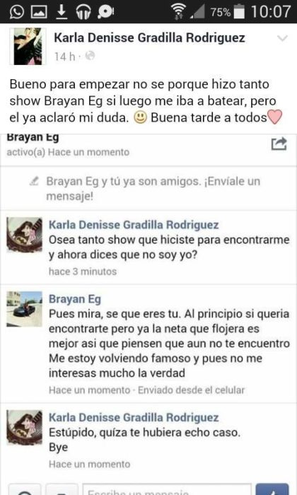 CUANDO EL BRYAN BATEO A LA CHAVA POR FACEBOOK