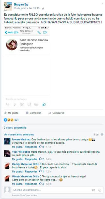 MENSAJE FALSO DE LA MUJER QUE VIO EN EL METRO