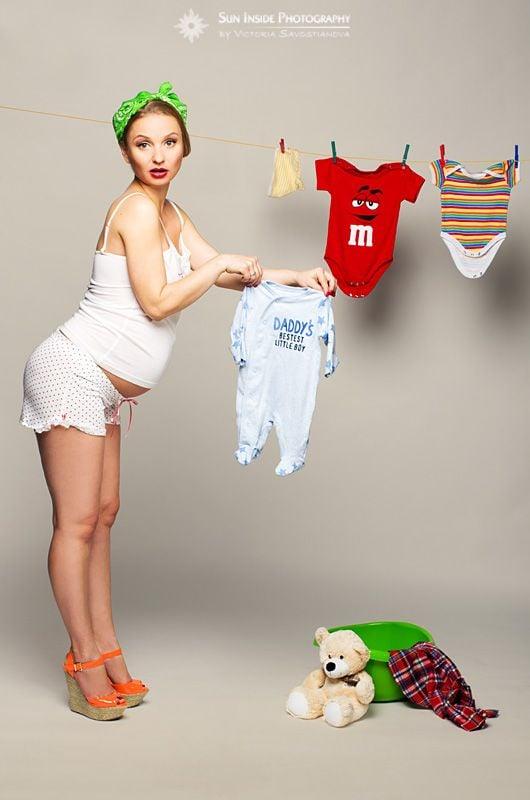 Embarazada en Pin up