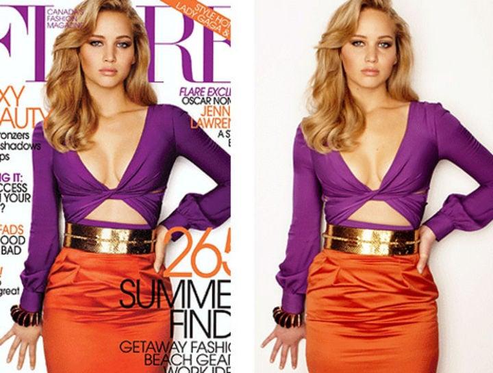 Jennifer Lawrence portada de revista