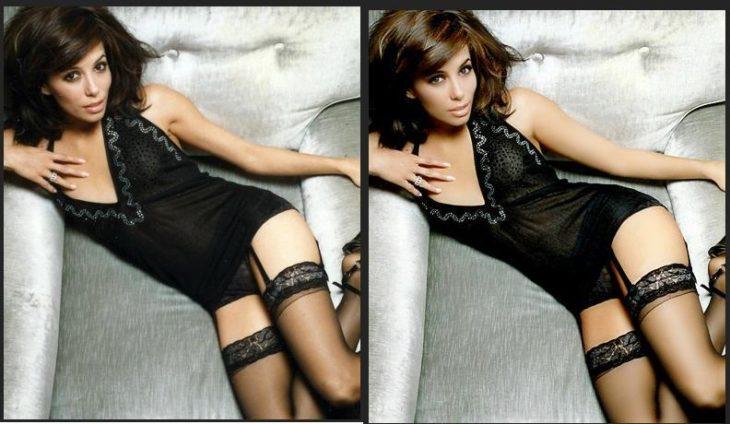 Eva Longoria vestido negro