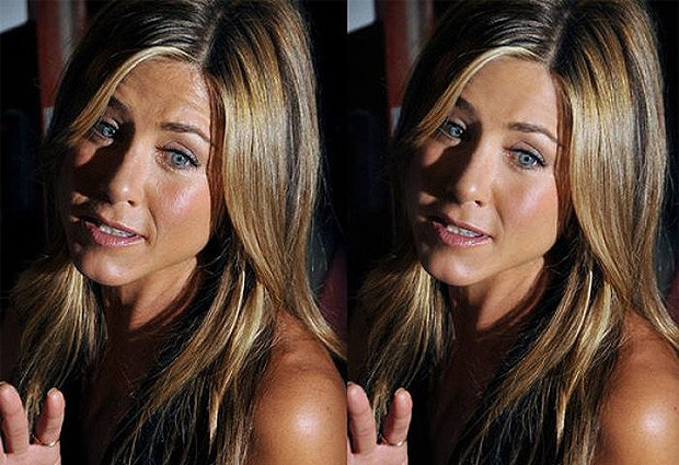 Rostro Jennifer Aniston