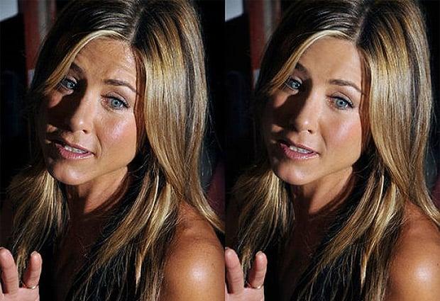 Rostro Jennifer Aniston