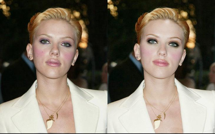 Scarlett traje blanco